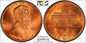Click now to see the BUY IT NOW Price! 1995 PCGS MS69RD DOUBLE DIE OBVERSE LINCOLN MEMORIAL CENT
