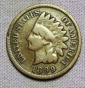 1899  INDIAN HEAD CENT    90813208