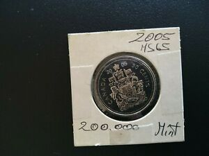 2005P FIFTY CENT CANADA