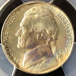 Click now to see the BUY IT NOW Price! 1944 P 5C FS JEFFERSON NICKEL PCGS MS 67 FS 40376435