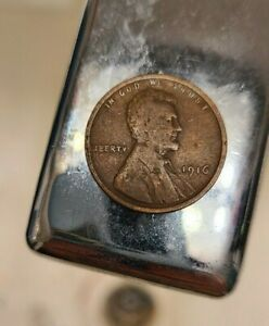 1916 LINCOLN WHEAT PENNY