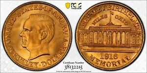 Click now to see the BUY IT NOW Price! 1916 PCGS & CAC MS67  MCKINLEY COMMEMORATIVE GOLD DOLLAR