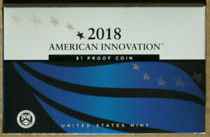2018 S AMERICAN INNOVATION 1$ DOLLAR PROOF COIN US MINT PACKAGING W/ COA
