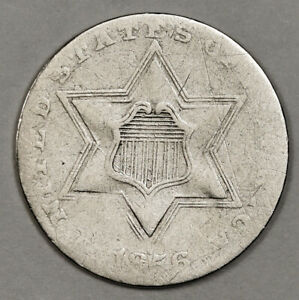 1856 3 CENT SILVER.  CIRCULATED.  152650