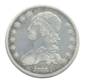 1831 CAPPED BUST SILVER QUARTER CH. FINE VF  CONDITION EARLY AMERICAN COIN