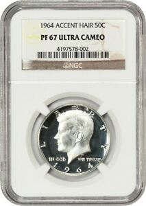 Click now to see the BUY IT NOW Price! 1964 50C NGC PR 67 UCAM  ACCENTED HAIR  POPULAR VARIETY   KENNEDY HALF DOLLAR