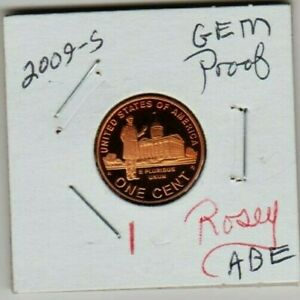 2009 S PROFESSIONAL YEARS LINCOLN CENT PENNY GEM PROOF COIN PRESIDENT ABE PATINA
