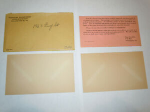 REPLACEMENT PACKAGING 1963 PROOF SET ENVELOPE COA AND CARDBOARD INSERTS NO COINS