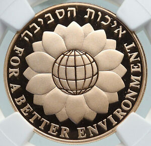 Click now to see the BUY IT NOW Price! 1994 ISRAEL SAVE ENVIRONMENT OLD JERUSALEM GOLD 10 NEW SHEKEL NGC COIN I87369
