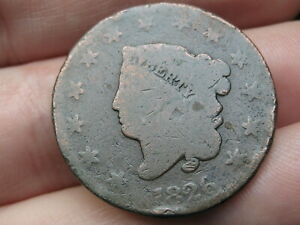 1826 MATRON HEAD LARGE CENT PENNY  NORMAL DATE GOOD DETAILS