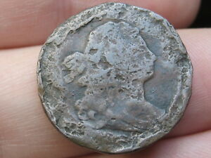 1808 DRAPED BUST HALF CENT  SPOONED