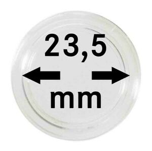 LINDNER 2250235P CAPSULES 23 5 MM FOR TRAYS PACK 10