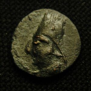 Click now to see the BUY IT NOW Price! ARMENIA  CHALKON KING TIGRANES II RV NIKE WREATH 3.07 GRAMS 16 7MM 95 56 BC