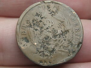 1864 1869 TWO 2 CENT PIECE  CIVIL WAR TYPE COIN