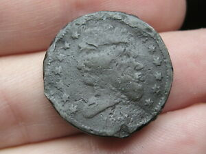 1835 CAPPED BUST HALF CENT  OLD TYPE COIN