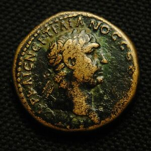 Click now to see the BUY IT NOW Price! 26 ANTIOCH EMPEROR TRAJAN RV DHMAPX E YAT B IN WREATH 12.08 GRAM 26MM AD 98 9