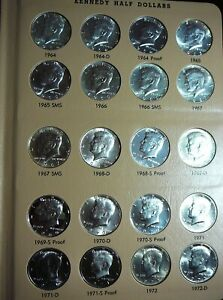 Click now to see the BUY IT NOW Price! 1964 2010 KENNEDY HALF DOLLAR SET / COLLECTION   BU / PROOF / SILVER