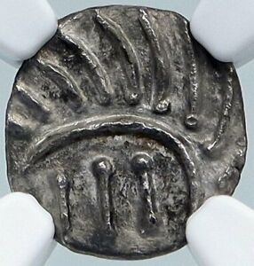 Click now to see the BUY IT NOW Price! 710 760AD ANGLO SAXON FRISIA CONTINENTAL SILVER SCEATT COIN  NGC I87805