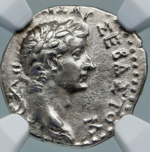 Click now to see the BUY IT NOW Price! TIBERIUS AUTHENTIC ANCIENT 17AD CAESAREA CAPPADOCIA SILVER ROMAN COIN NGC I87796