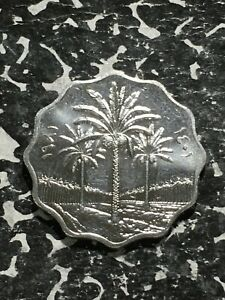 AH 1401 1981 IRAQ 10 FILS  MANY AVAILABLE  HIGH GRADE  BEAUTIFUL   1 COIN ONLY
