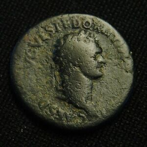 Click now to see the BUY IT NOW Price! DUPONDIUS DOMITIAN AS CSAR  TITUS  RV CERES AVGVST 10.92 GR 26 7MM ROME AD 80