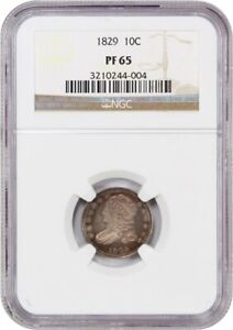 Click now to see the BUY IT NOW Price! 1829 10C NGC PR 65    PROOF     PROOF