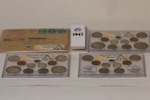Click now to see the BUY IT NOW Price! 1947 ANACS DOUBLE MINT SETS  AS ISSUED CERTIFIED ORIGINAL     P D  AND S MINTS