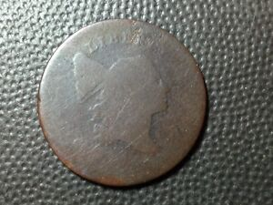 1795 PLAIN EDGE   NO POLE  LIBERTY CAP   HALF CENT   TOUGH TYPE