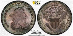 1807 PCGS MS64 DRAPED BUST HALF 50C