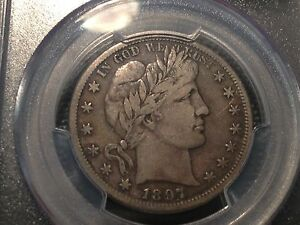 PCGS  VF 25  1897 S  BARBER HALF DOLLAR  TOUGH DATE    NICE COIN