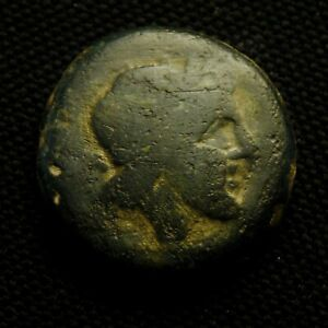 Click now to see the BUY IT NOW Price! ANONYMOUS SEMIS ROMAN REPUBLIC SATURN RV ROMA PROW 19.16 GR 28 9MM 211 06 BC
