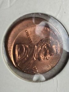 ERROR OFF CENTER 199? LINCOLN CENT