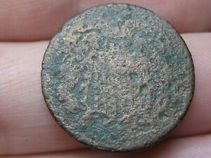 1864 1872 TWO 2 CENT PIECE  CIVIL WAR TYPE COIN METAL DETECTOR FIND