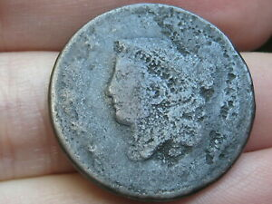 1816 1835 MATRON HEAD LARGE CENT PENNY  MATURE HEAD