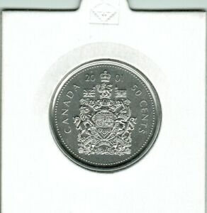 2001P   50 CENTS  PERFECT COIN STRONG AND CLEAR STRIKE