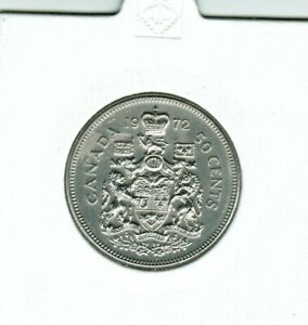 1972   50 CENTS  PERFECT COIN STRONG AND CLEAR STRIKE EXCEPTIONAL