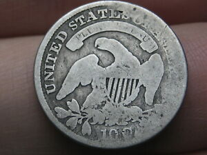 1831 SILVER CAPPED BUST DIME  OLD TYPE COIN