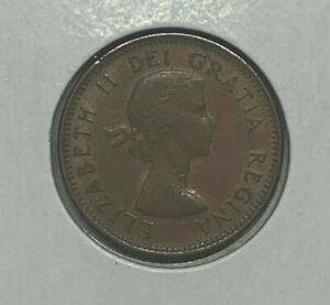 1954 CANADA PENNY 1 CENT CANADIAN COIN