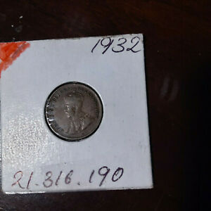 1932 ONE CENT  CANADA