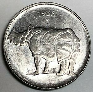 C6894   INDIA    COIN    25  PAISE   1988