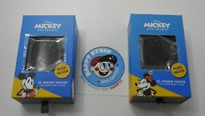 CHIBI DISNEY 2 COIN SET MICKEY & MINNIE MOUSE 1 OZ SILVER PROOF LE2000