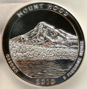 Click now to see the BUY IT NOW Price! 2010 UNITED STATES MOUNT HOOD OREGON 5 OZ PROOFLIKE SILVER 25C COIN PCGS I95252
