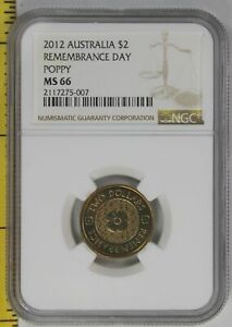 Click now to see the BUY IT NOW Price! 2012 REMEMBRANCE DAY GOLD POPPY $2 COIN NGC MS 66