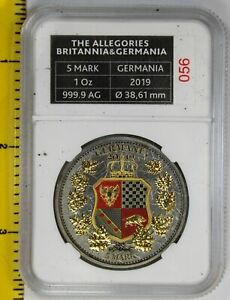 Click now to see the BUY IT NOW Price! GERMANIA MINT 5 MARK 2019