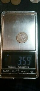 1860 INDIAN HEAD CENT WRONG PLANCHET 3.59 GRAMS