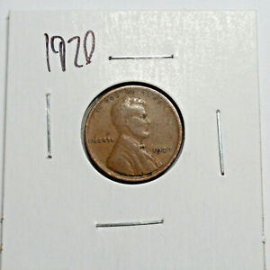 1920 US WHEAT PENNY LINCOLN CENT COIN