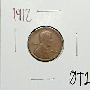 1912 US WHEAT PENNY LINCOLN CENT COIN  EXACT COIN