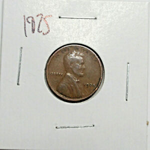 1925 US WHEAT PENNY LINCOLN CENT COIN
