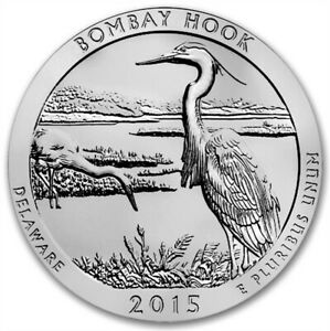 2015 5 OZ SILVER ATB BOMBAY HOOK NATIONAL PARK DE