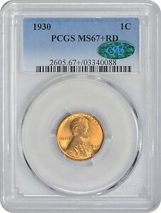 Click now to see the BUY IT NOW Price! 1930 LINCOLN CENT MS67 RD PCGS MINT STATE 67 RED  CAC